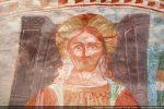 Détail du visage du Christ