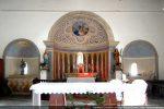 Vue intérieure des trois absides
