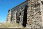 Mur sud et surélévation de la toiture