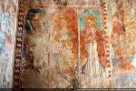 Trois Saintes: Catherine d'Alexandrie, Lucie et Marie-Madeleine (mur sud)