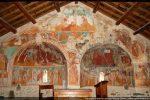 Fresques de 1473 recouvrant les deux absides