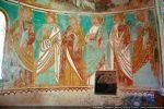 Abside de gauche: cortège des apôtres (seconde série)