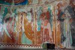 Saints et sainte: Hippolyte, Salvador, Catherine, Antoine abbé