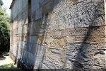 Détail de l'appareillage du mur sud