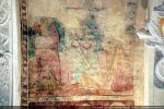 Troisième groupe d'apôtres; fresques restaurées par Madeleine Allegrini