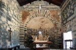 Intérieur de l'église vers l'abside