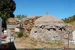 Arrière de l'abside et départ du mur sud