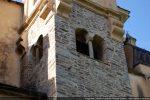 Base du campanile et fenêtres géminées