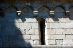 Fenêtre décorée d'une cordelière (sud)