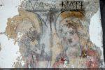 Détail des deux apôtres: Thomas et Mathieu