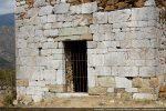 Façade ouest (partie originale du 11e-12e siècle)