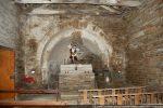 Intérieur de la chapelle vers l'abside