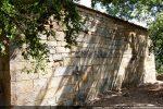 Mur sud percé d'une fenêtre