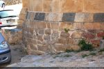 Soubassement de l'abside