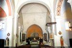 Intérieur de l'église (abside romane)