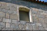 Fenêtre du mur sud remaniée