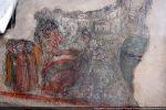 Face 2 du cénotaphe: exécution de Ste Restitude et de ses 5 compagnons