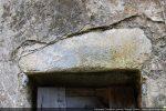 Détail du linteau intérieur de la porte sud