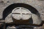 Motif de la croix inscrite dans un cercle
