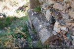 Bandeau mouluré sur le mur nord