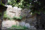 Chevet carré ayant remplacé l'abside semi-ciculaire