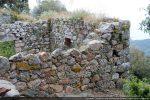 Angle sud-ouest et une partie du mur sud