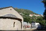 Vue vers le village de Castirla