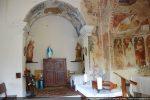 Chapelle latérale percée dans le mur nord (17e siècle?)
