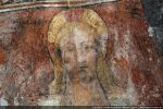 Tête du Christ en majesté très expressive