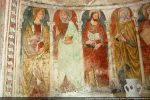 Les apôtres ont tous des attitudes différentes. Ici: Jacques le Mineur, Simon, Philippe et André