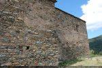 Mur sud avec la chapelle latérale postérieure