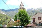 Départ du chemin conduisant à la chapelle Santa Maria Assunta d'Arca à Muracciole