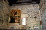 Détail du mur est avec la fenêtre centrale: aucune trace d'une éventuelle abside