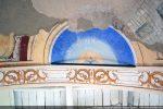 Au sommet de l'abside: la colombe du Saint Esprit
