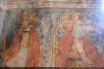 Saint Eustache et Saint Christophe portant l'Enfant Jésus